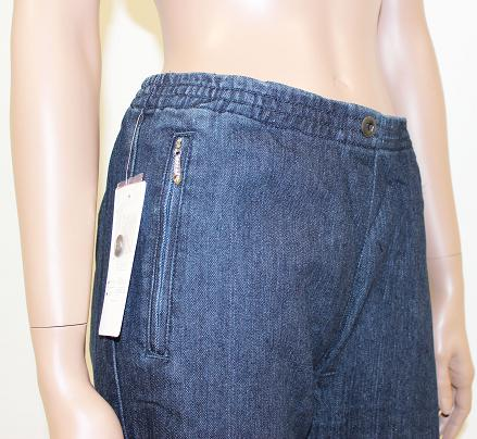 damen jeanshose schlupfhose dehnbund jeans hose neu gr 36. Black Bedroom Furniture Sets. Home Design Ideas