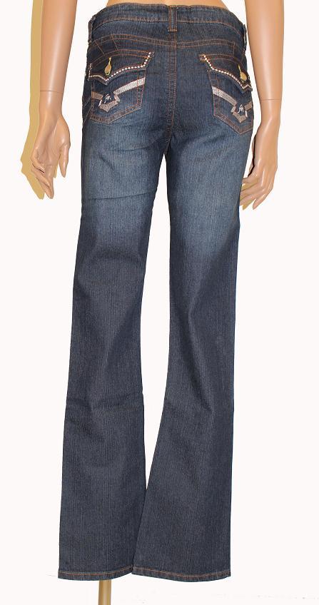 fen damen jeanshose jeans hose gerades bein blau gr 36 38 40 44 46 48 neu 7. Black Bedroom Furniture Sets. Home Design Ideas