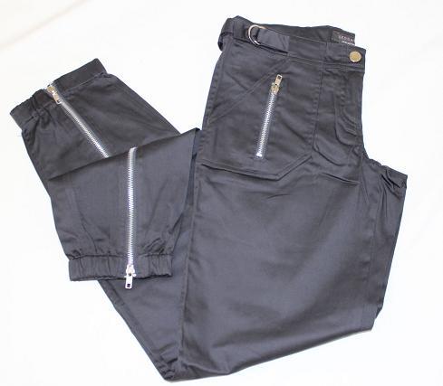 damenhose hose jeans sexy designer h ftjeans dunkelgrau schwarz gr 34 36 38 neu ebay. Black Bedroom Furniture Sets. Home Design Ideas