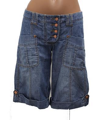 max 2 b mac damen bermuda bermudas shorts jeans hose w 28 farbe blue neu h76 ebay. Black Bedroom Furniture Sets. Home Design Ideas
